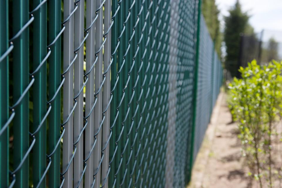 Atemberaubend Maschendrahtzaun PVC Leiste Gartenzaun Maschendraht Sichtschutz #HU_97